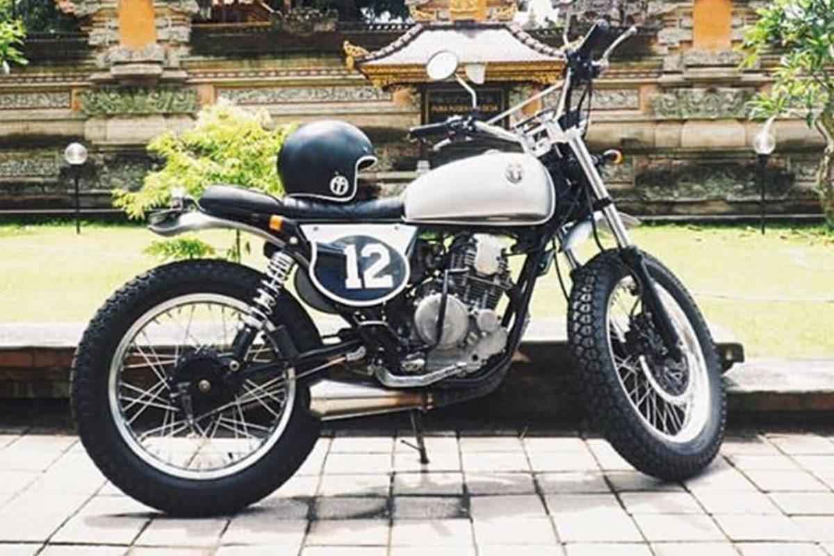 MM12 - Custom Yamaha Scorpio 225 - Malamadre Motorcycles