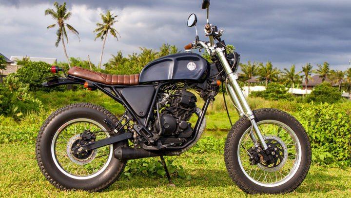 mm25 - Yamaha Scorpio - Custom Bike - Malamadre Motorcycles