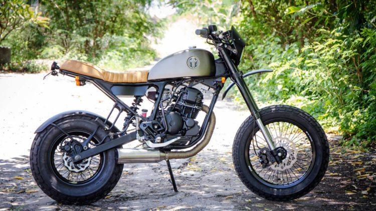 MM29 - Custom Yamaha Scorpio 225 - Malamadre Motorcycles